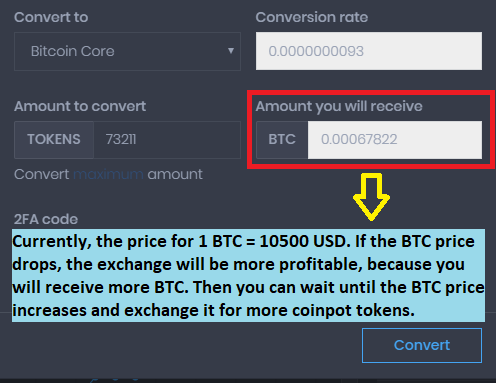 best way to convert tokens from coinpot faucets & earn free bitcoins