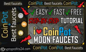 coinpot faucets to get free bitcoins online
