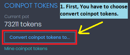coinpot faucets - convert tokens and earn free bitcoins
