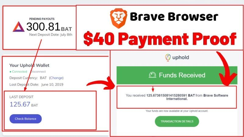 Brave Browser Review - Payment Proof